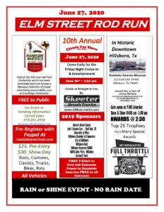 The 10th annual Elm Street Rod Run